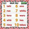 Numbers 1 to 10 in Māori - Ngā Tau